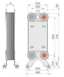 Уплотнения теплообменника Alfa Laval MX25-MFG Москва Пластинчатый теплообменник Tranter GX-085 N Липецк