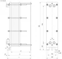Уплотнения теплообменника Alfa Laval T50-MFG Самара Пластинчатый теплообменник Анвитэк AX 016 Новый Уренгой